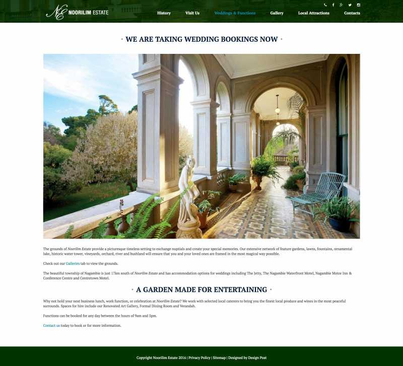 Web design - Noorilim Estate